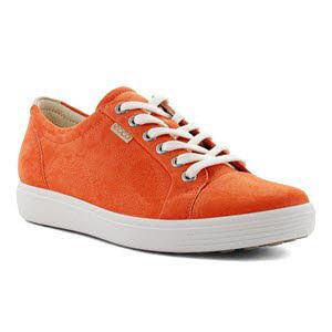 Ecco Soft 7 W Fi Sneaker Orange