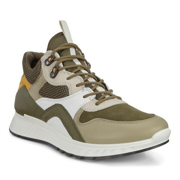 Ecco ST1 M Multi Sneaker Oliv - Bild 1