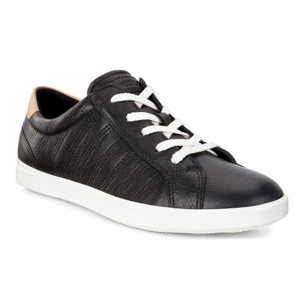 Ecco Leisure Sneaker Schwarz - Bild 1