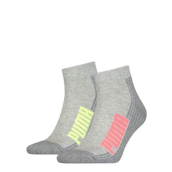 Puma Socken kurz 2-Pack Grau