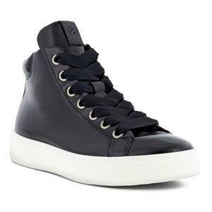 Ecco STREET High Top Sneaker Schwarz