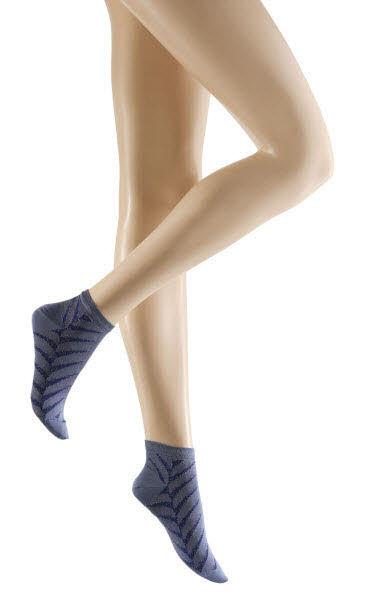 Kunert Sneakersocken Blau - Bild 1