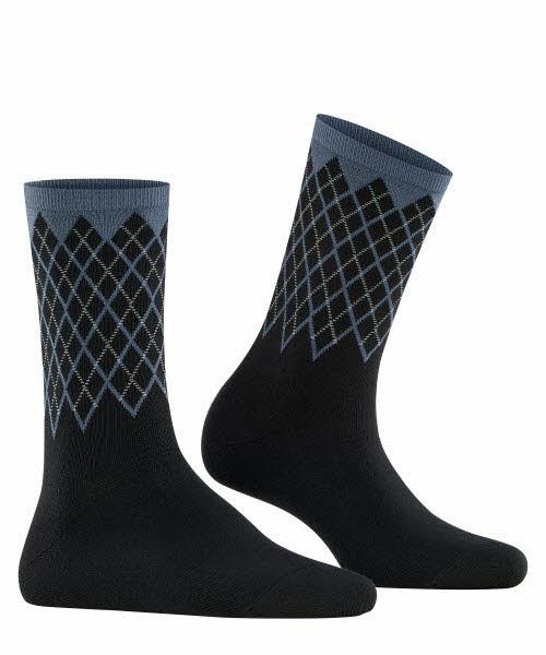 Burlington Socke Schwarz - Bild 1