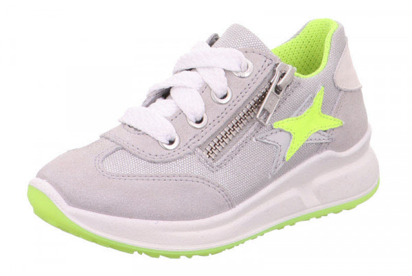 Superfit Halbschuh L Sneaker mit Zip Grau - Bild 1