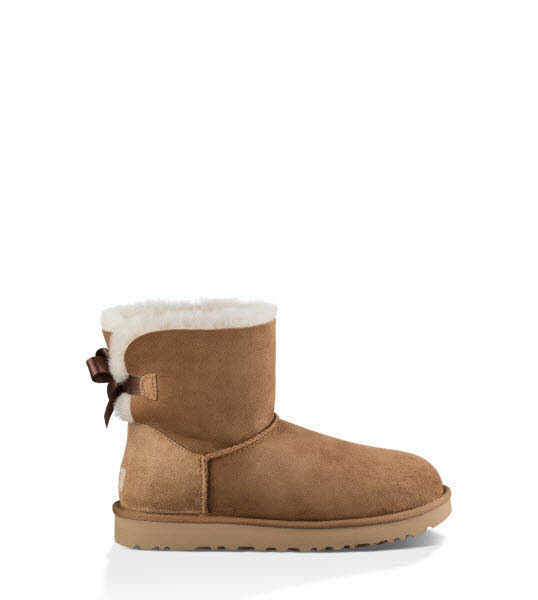 UGG Mini Bailey Bow  Braun - Bild 1